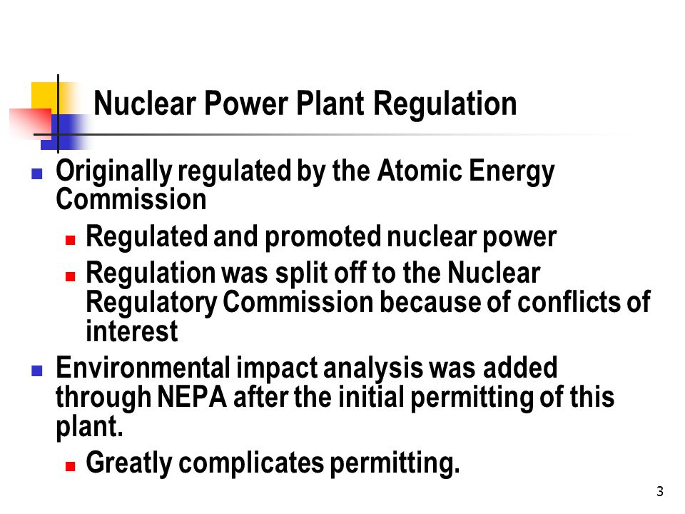 4 The Permit History for Vermont Yankee Permitting is an adjudication Specific party, specific facts The agency makes a decision as to whether it will grant the permit.