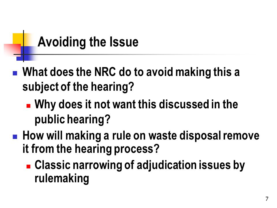 The Rulemaking What additional process was provided beyond the usual APA notice and comment.