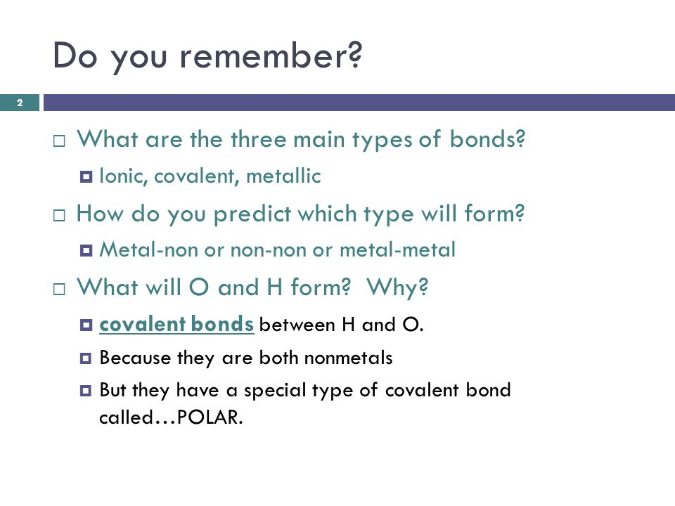 There are really 4 types of bonds you must know: 3 1.