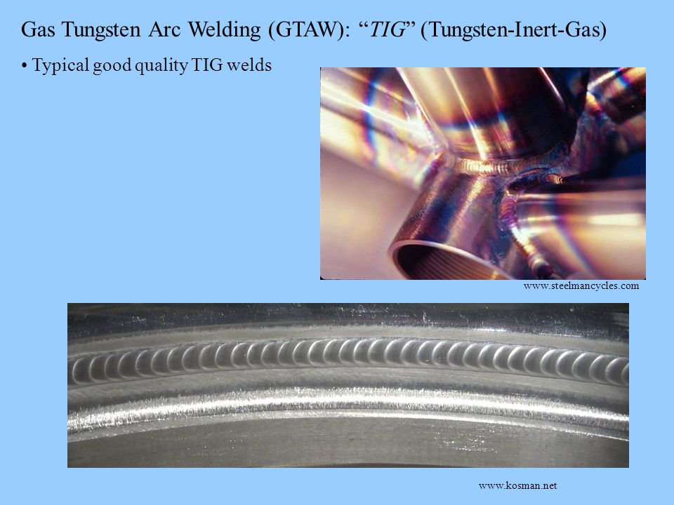 Kalpakjian Resistance Spot Welding (RSW): Spot Welding No filler rod: electrical current is passed through metal under pressure Low skill level required Easy to automate Low heat input and no weld bead: distortion and grain growth are minimized