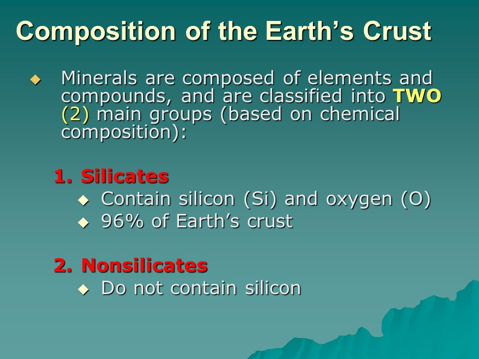 Crystal Structure  The internal arrangement of atoms  Determines: –Crystal form –Breaking pattern –Hardness
