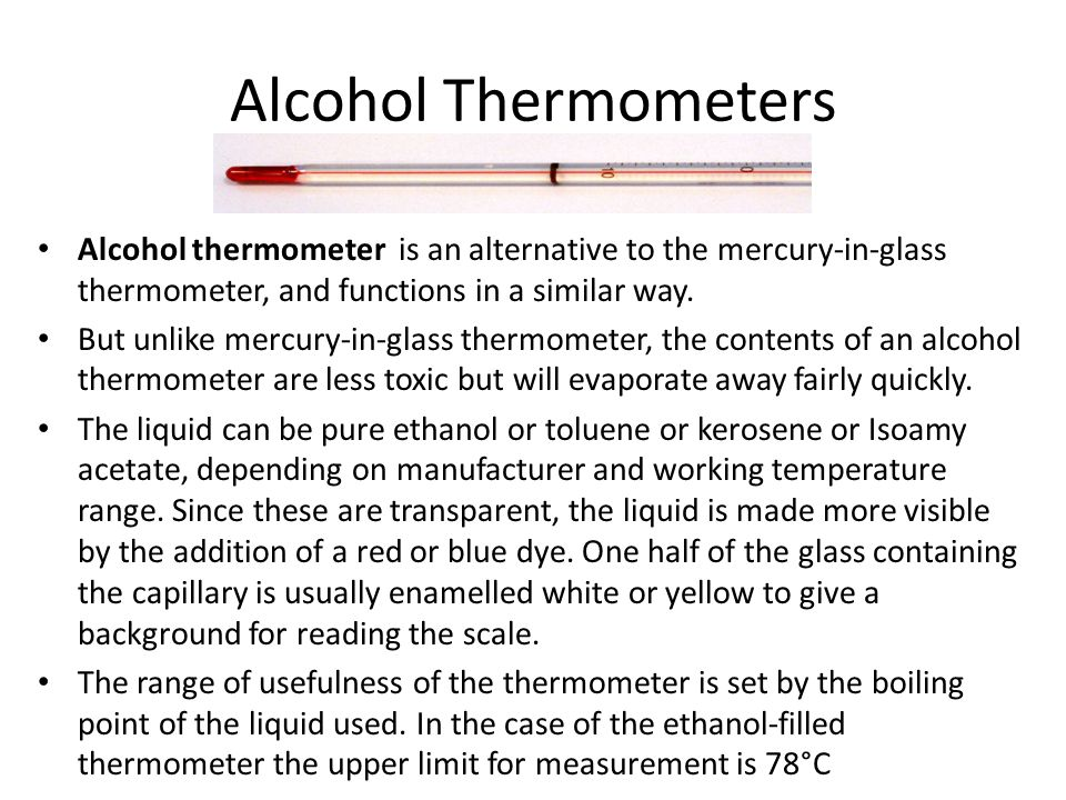 Bi-Metallic Thermometor A bimetallic strip is used to convert a temperature change into mechanical displacement.