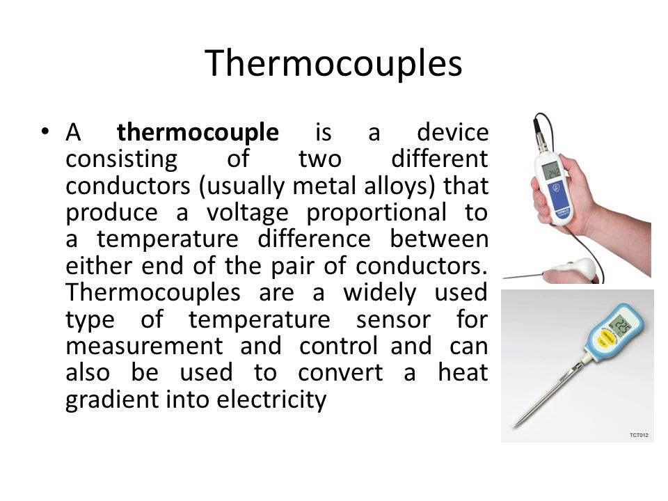 Theory of Thermocouples Seebeck Effect
