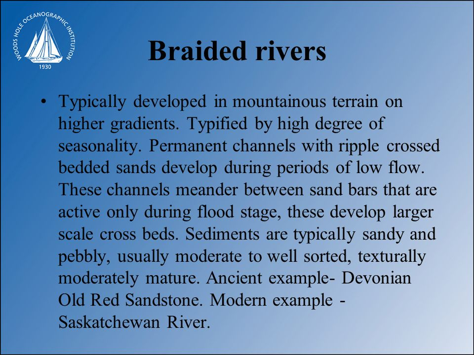 Braided River Model