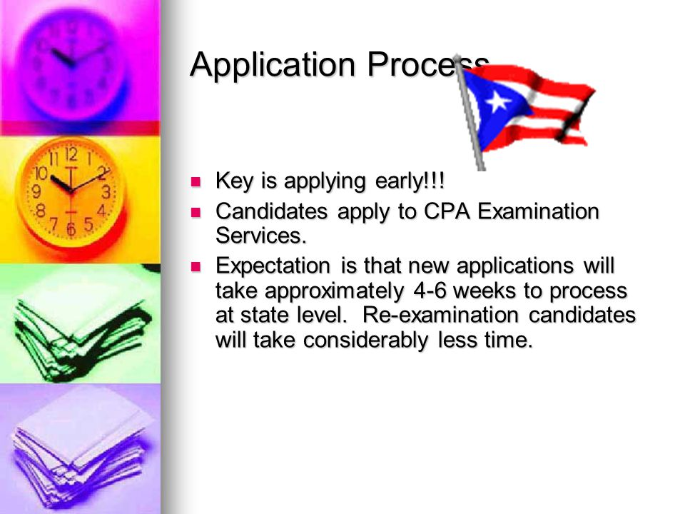 Application Process Key is applying early!!.Key is applying early!!.