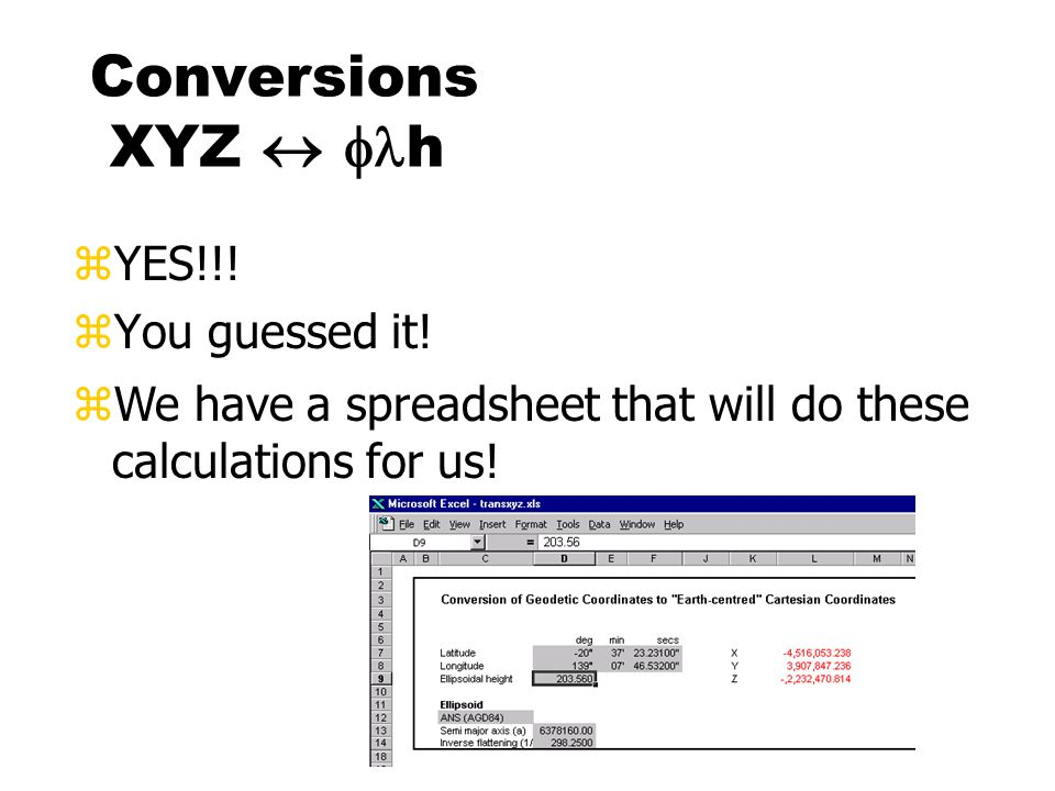 Conversions XYZ   h zYES!!.zYou guessed it.
