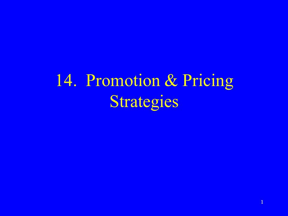 2 Topics Promotion The promotion mix Promotion planning Developing the promotion mix Pricing objectives Setting prices