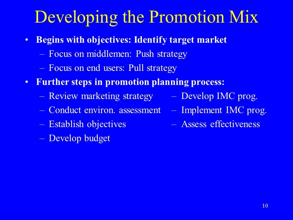 11 Pricing Objectives for Products Profitability-related –Target return on investment –Maximize profitability Market share growth Status quo maintenance Positioning-related