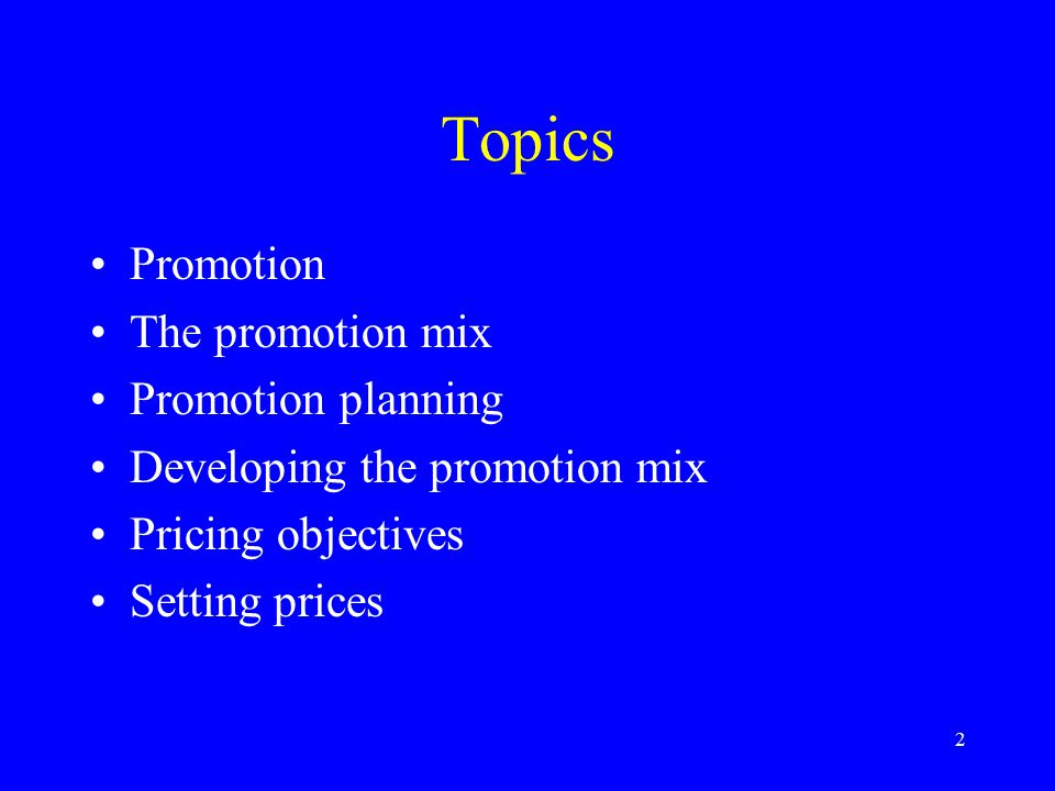 3 Promotion One of marketing's four P's Informs, persuades, reminds May be direct –Face-to-face May be indirect –Through media