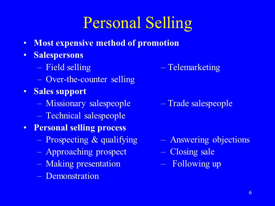 7 Sales Promotion Inducements to customers or salespersons Supplement other promotional methods Factors affecting choice of sales promotion methods: –Product characteristics –Target market characteristics –Distribution channels –Competitive & regulatory forces Important methods: –Rebates– Contests – Trade shows –Coupons– Specialty advert.