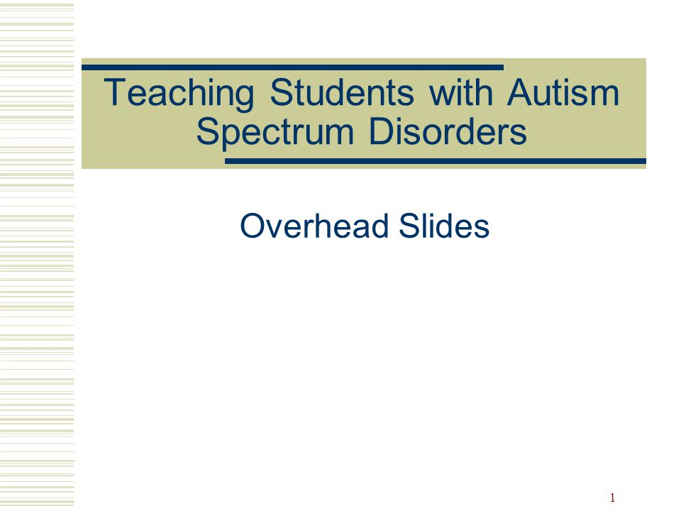 2 Questions I have about teaching students with autism spectrum disorders