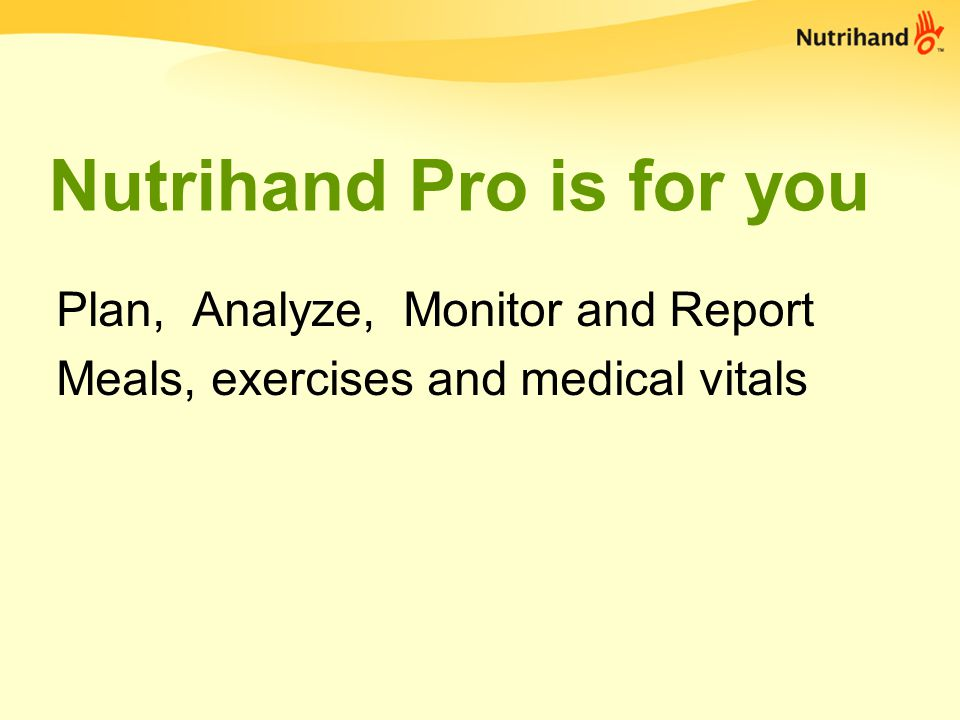 Nutrihand for your client Follow Plans, Create Journals and Link with You FOR FREE