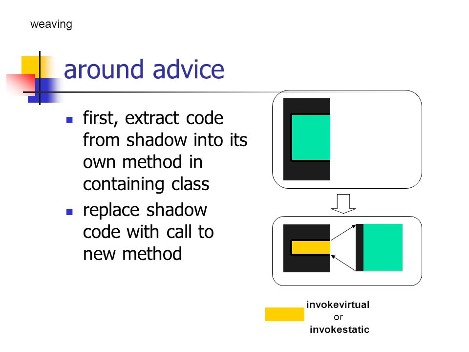 around advice – cont.
