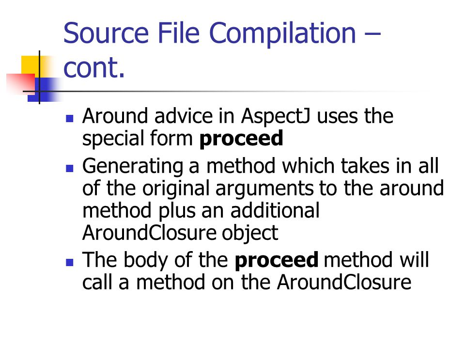 Source File Compilation – cont.