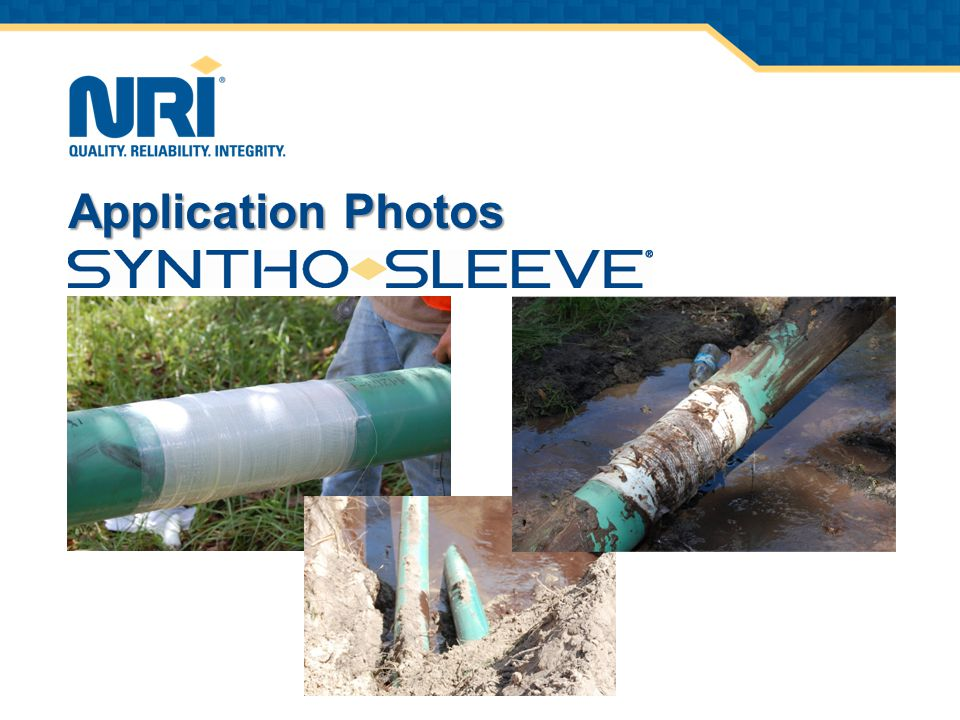 CORE BUSINESS Providing permanent repair solutions engineered to be stronger than the pipe itself.