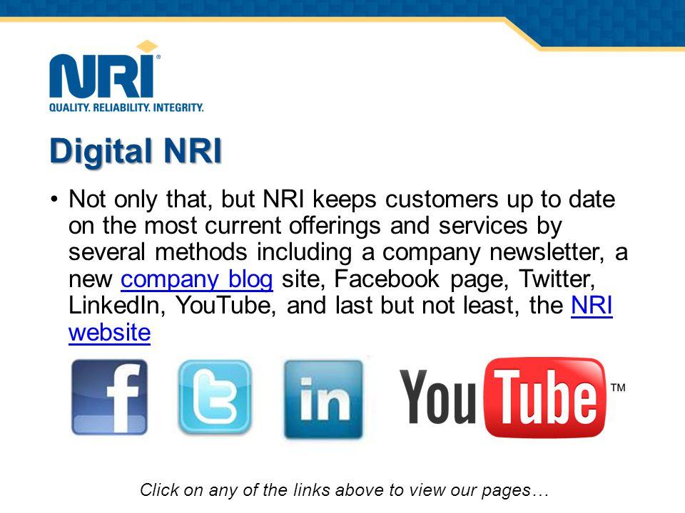 NRI's Online Composite Calculations