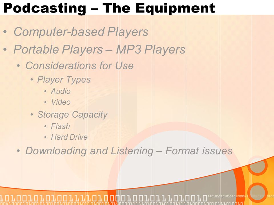 Computer-based Players