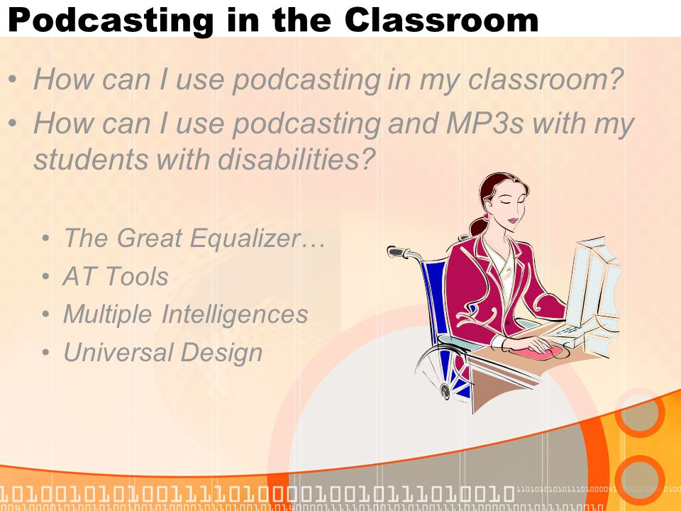 MP3s in the Classroom