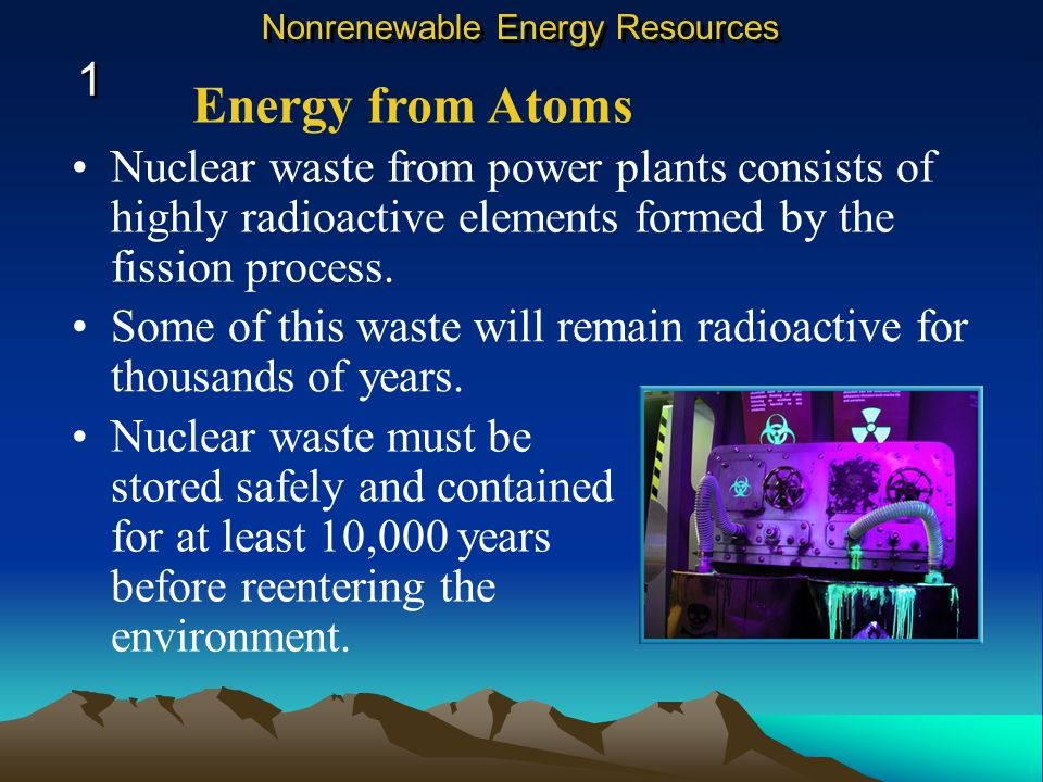 Nuclear waste from power plants consists of highly radioactive elements formed by the fission process.