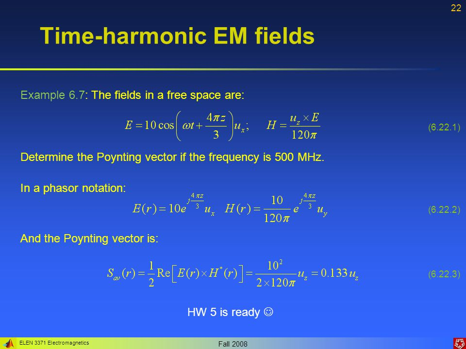ELEN 3371 Electromagnetics Fall 2008 23 What is diffusion equation.