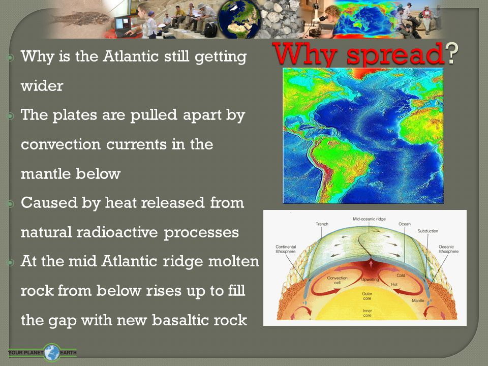  More evidence has been found for Wegener s theory  The Earths North and South pole have flipped many times  These leaves magnetic 'stripes' in rock containing iron minerals
