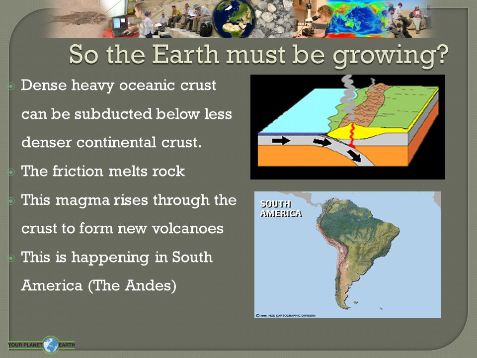  Eventually when plates move together the continental crust collides  The heat and pressure make metamorphic rock  It also pushes and folds the rocks into high mountains  The Himalayas rise to 8848m and are still growing today