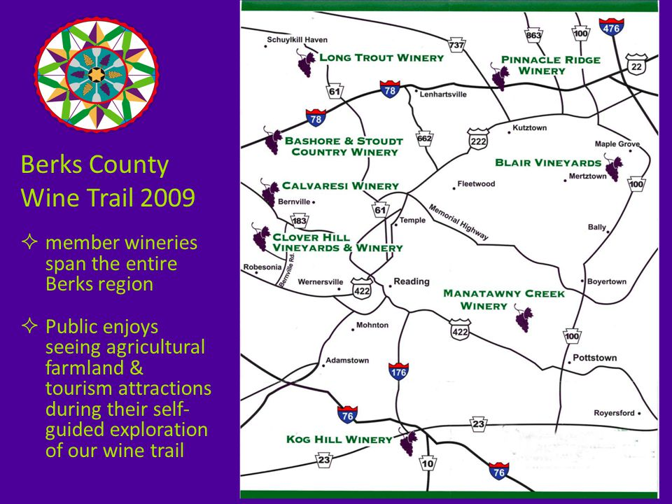  collaboration between the wineries supports 4 annual events each year: Chocolate & Wine Cool Wine Treat A Taste of Spring.