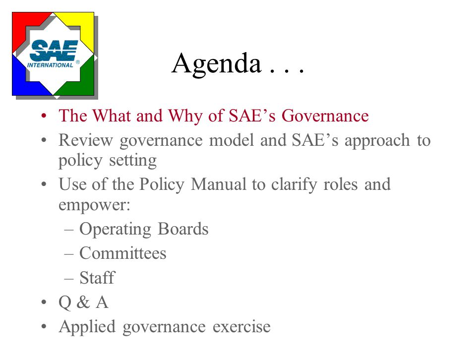 Governance Leadership Assure effective and timely decision making to meet member needs in this period of rapid change.