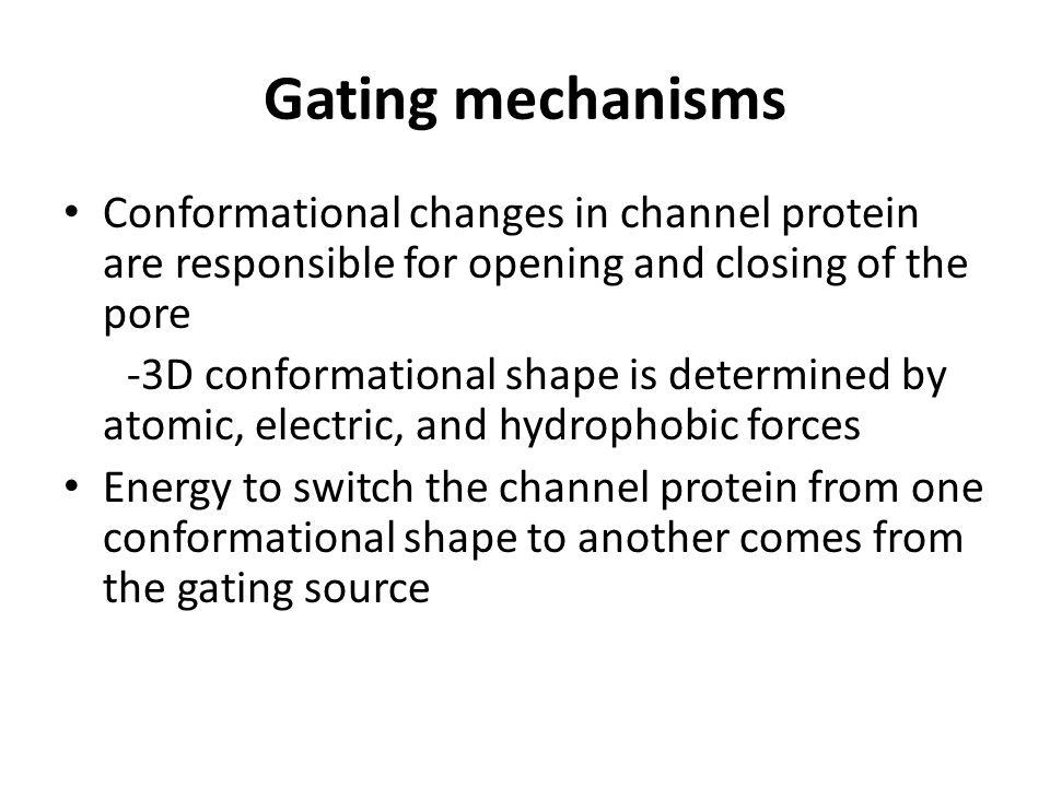 Ligand gated channels Glutamate receptors Nicotinic acetylcholine receptor Vanilloid receptor family (TRPV) = Neurotransmitter Ion Flow = Current