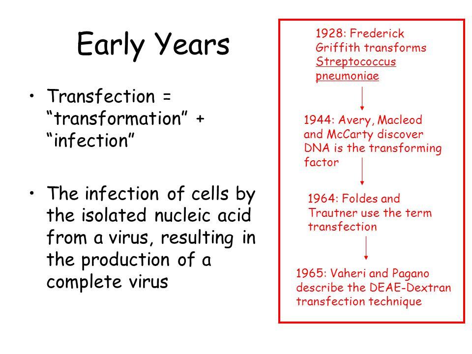 Transfection vs.