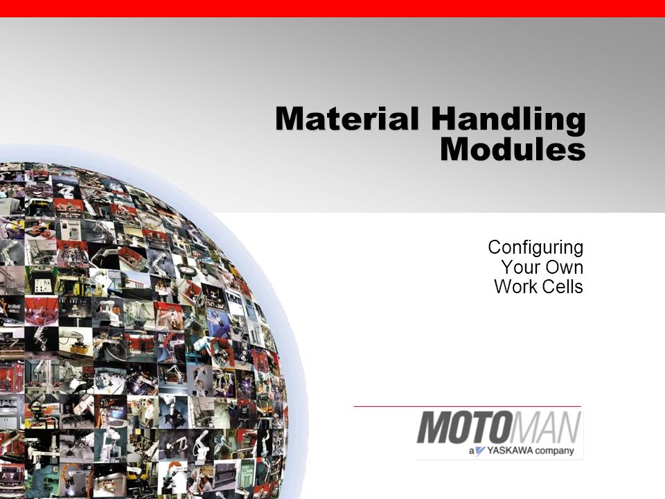 Why Use Material Handling Modules.