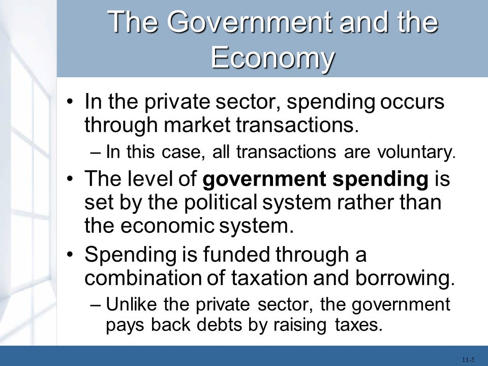 Short-Term Impact of Government Spending Each year the federal budget is set through a process that begins in February.