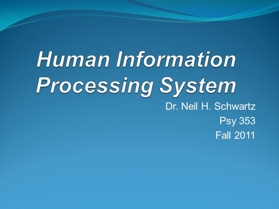 Dr. Neil H. Schwartz Psy 353 Fall 2011