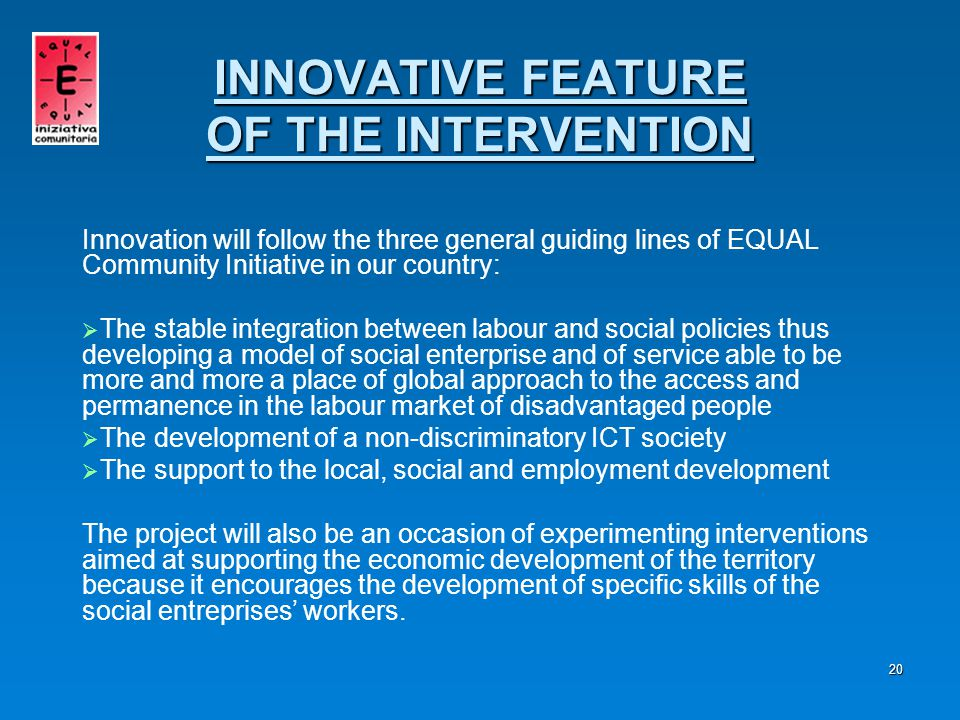 21   Macrophase I CONNCETION WITH THE USERS   Macrophase II RESOURCE CENTRE MANAGEMENT   Macrophase III SOCIAL INCLUSION   Transversal Action MONITORING AND SELF-EVALUATION PAIDEIA PHASES