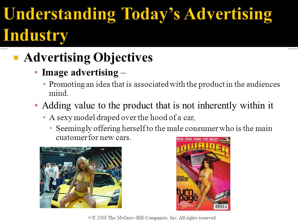 ▪ Advocacy ads ▪ Designed to affect public opinion or government policy.
