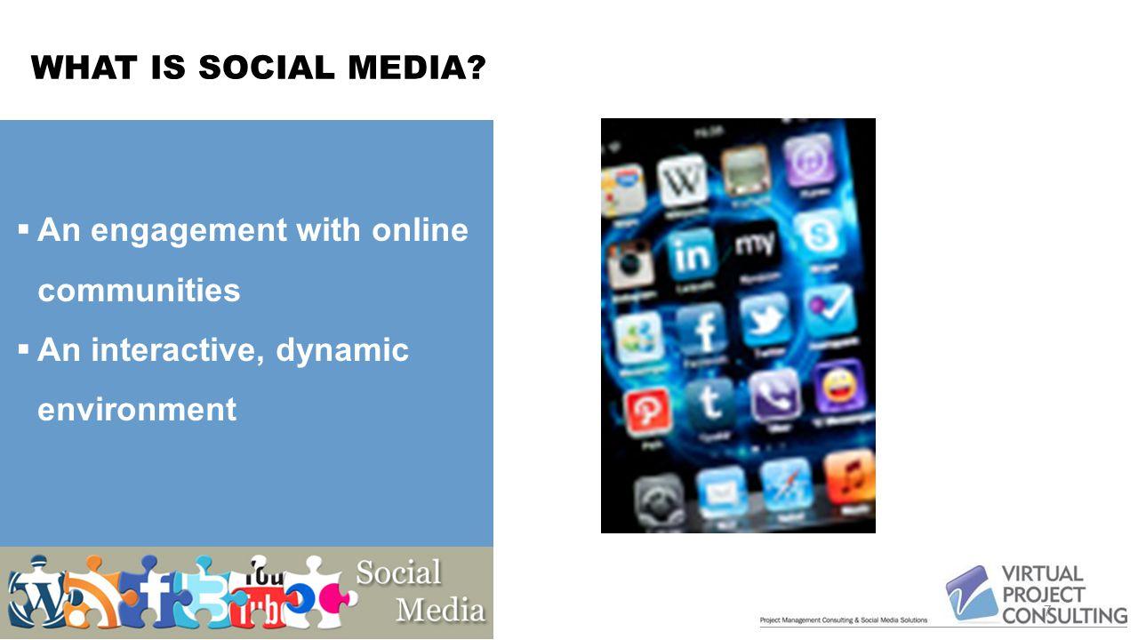 SOCIAL MEDIA ADOPTION 8 Why Social Media.