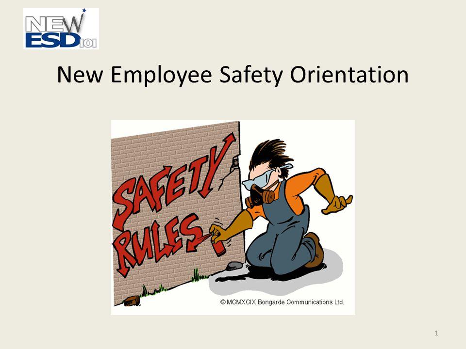 New Employee Safety Orientation 1