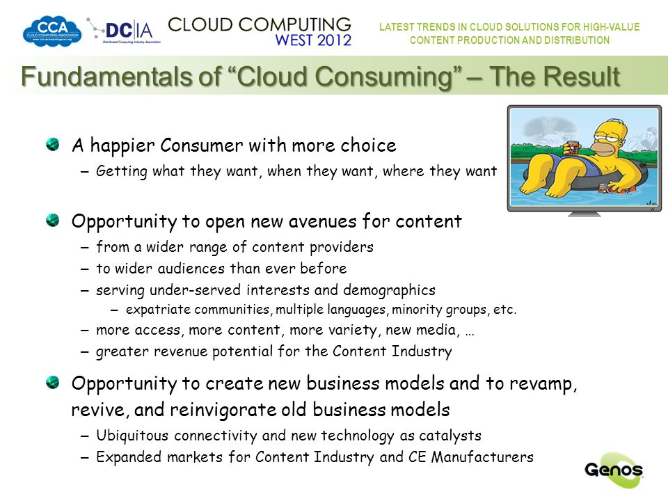 LATEST TRENDS IN CLOUD SOLUTIONS FOR HIGH-VALUE CONTENT PRODUCTION AND DISTRIBUTION The Biggest Thing That Ever Happened to Content