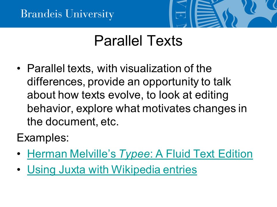 Text-mining Understanding statistics is increasingly important for certain kinds of digital humanities work.
