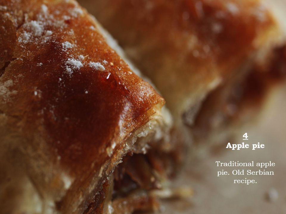 5 Cherry pie Traditional cherry pie. Old Serbian recipe.