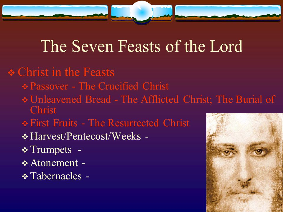 Feast of Harvest  Shavuot  (Lev 23:15-22)  Known also as Feast of Pentecost/Weeks  The Holy Spirit, the Giver of gifts  Occurs seven weeks after the feast of First-Fruits  One of only three major feasts where all the males appeared before the Tabernacle: Passover, Weeks, Tabernacles  Thanksgiving for the harvest  Commemoration of receiving the Ten Commandments – which occurred on that day