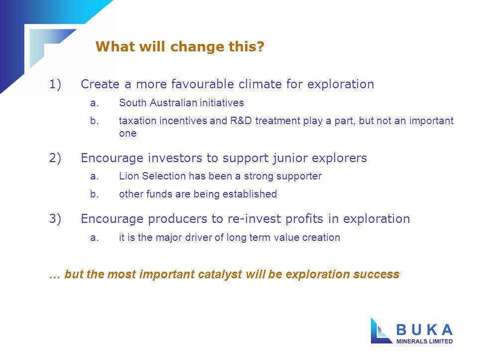 Total Australia $735 million South Australian exploration initiative Exploration Expenditure by State - 2003