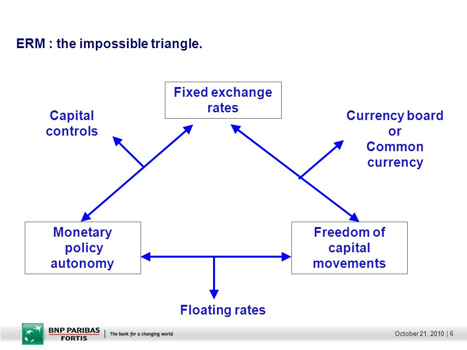 October 21, 2010   7 The difficult situation before the Euro.