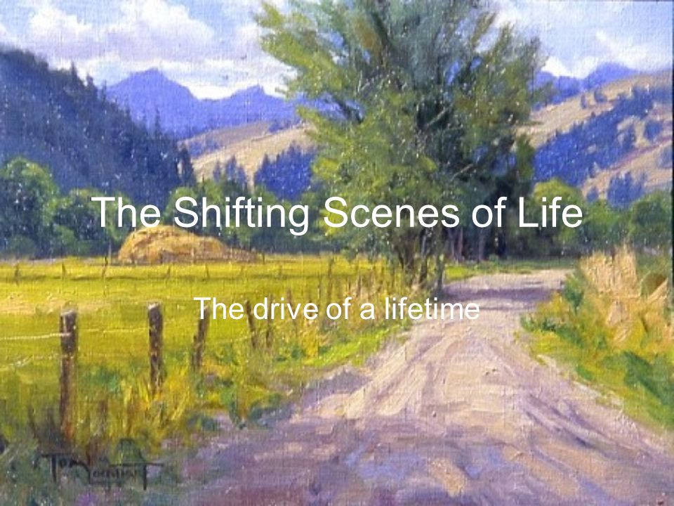 The Shifting Scenes of Life In the words of Allie Fry, about 1965.