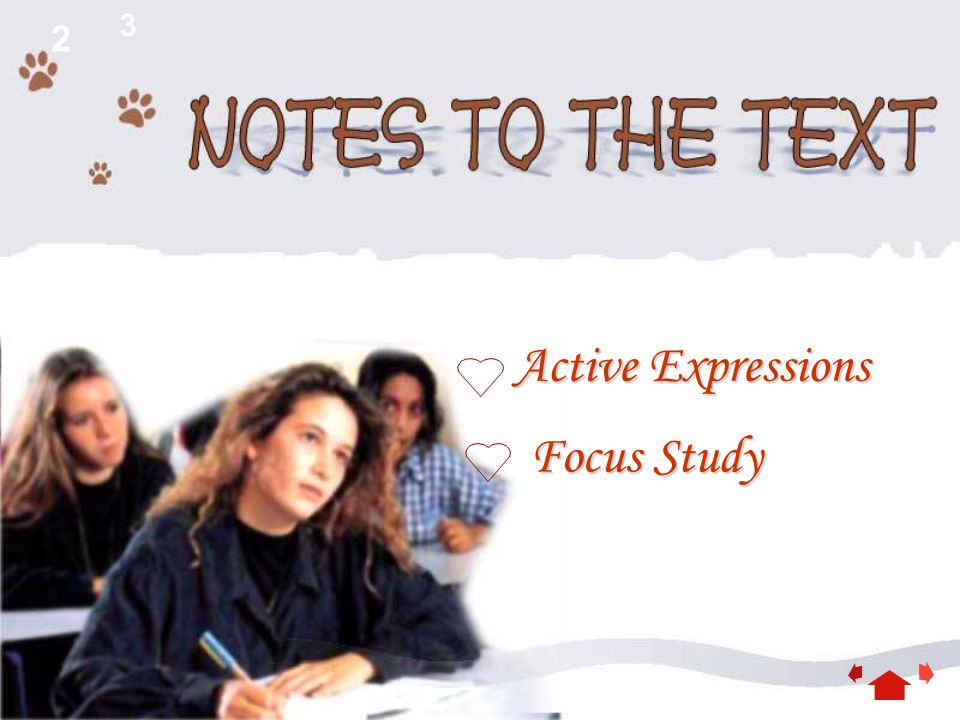 2 3 Focus Study Focus Study Active Expressions Active Expressions
