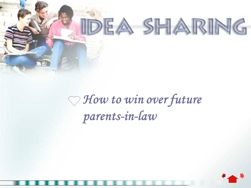 2 3 How to win over future parents-in-law