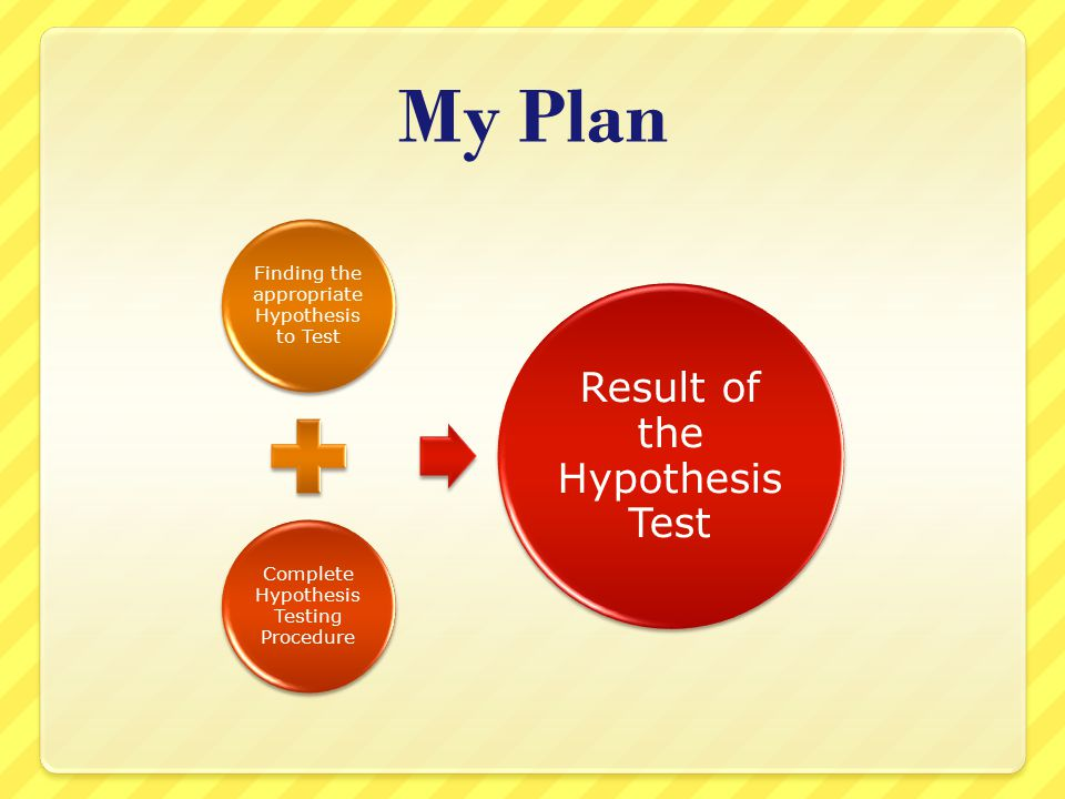 We have the outline of a hypothesis test, just not the detailed implementation What is the exact procedure to get to a do not reject / reject conclusion.