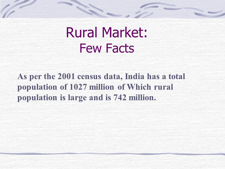 1.Rural Community: Family is an important unit which exercises social control.