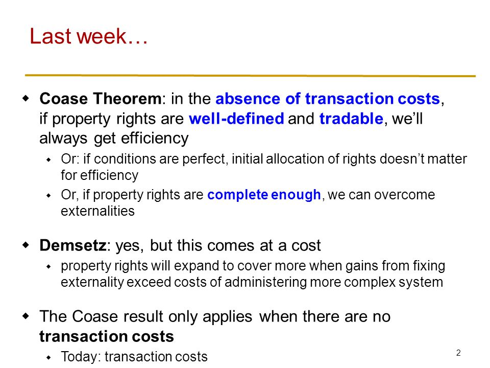3 Transaction Costs