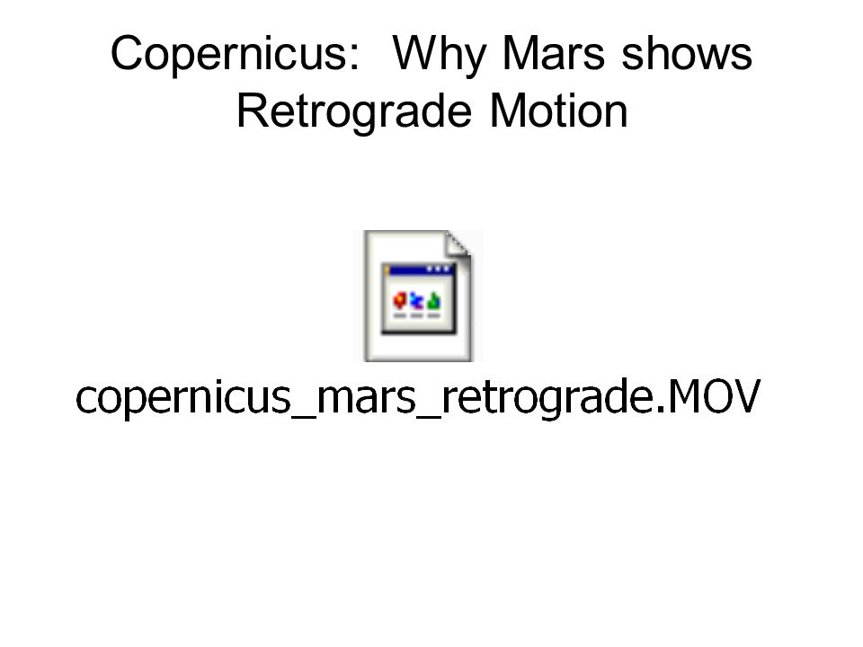 How often do retrograde motions occur? A=Less than 1/yr B= 1/yr C=More than 1/yr